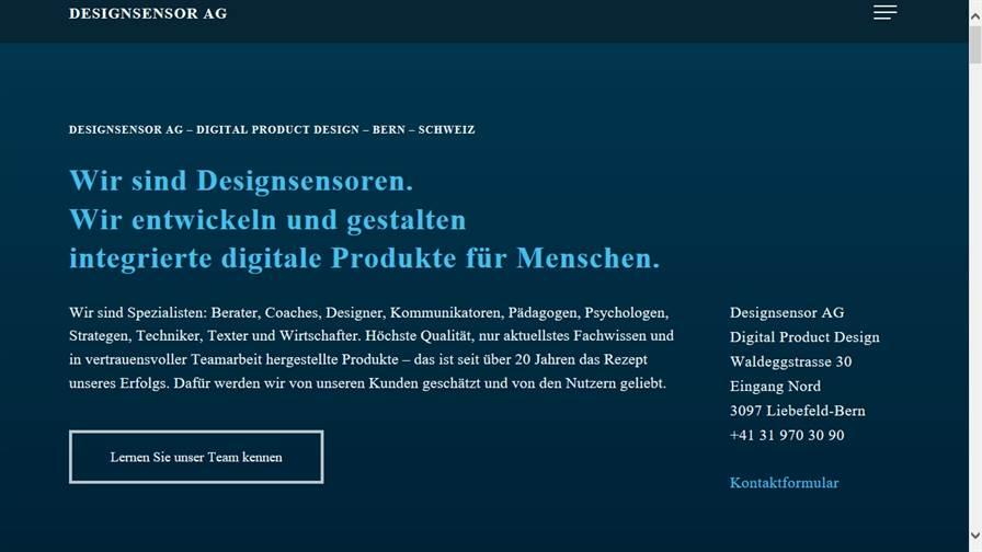 Designsensor AG