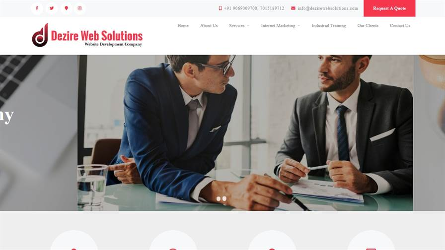 Dezire Web Solutions - Web Design & Development, Digital Marketing, Web Designing Company In Ambala