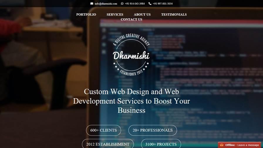 Dharmishi Technologies - Web Design & Development