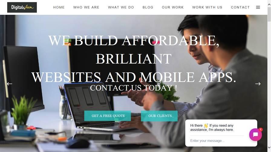 Web & Mobile App Design | IT Solutions | Digitalfren