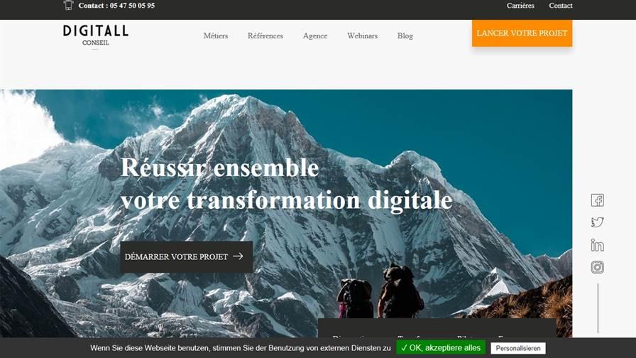 DIGITALL Conseil - Cabinet transformation digitale