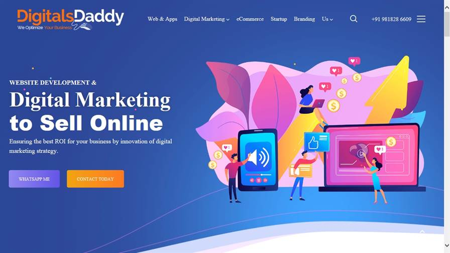 Website Development in Gurgaon: DigitalsDaddy