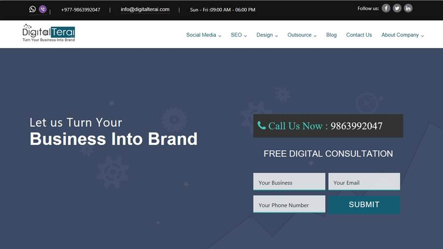 Digital Terai - Digital Marketing Agency Nepal