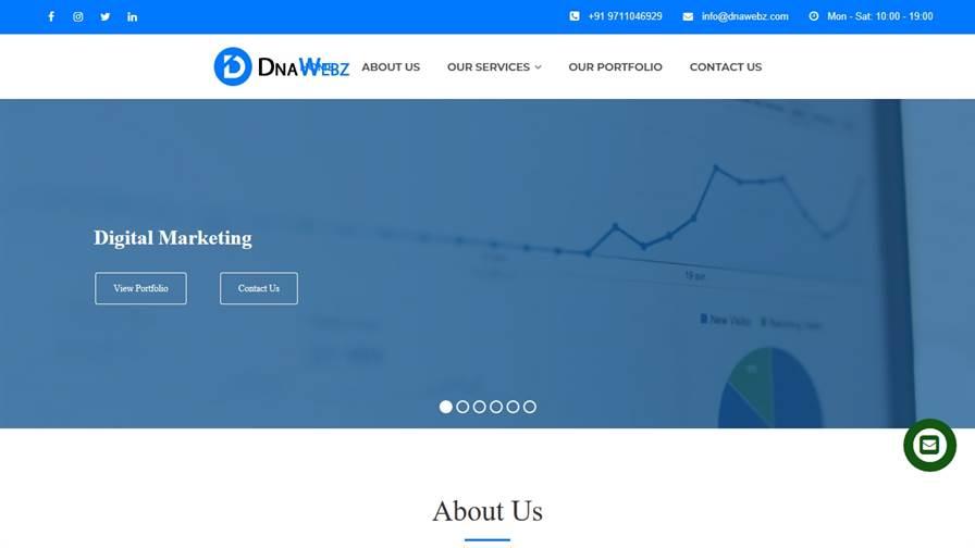 Dnawebz- Website Designing Company and Digital marketing Company in Faridabad