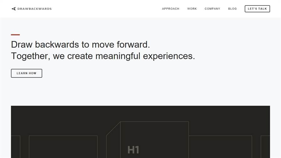 Drawbackwards: UI / UX / Brand Design