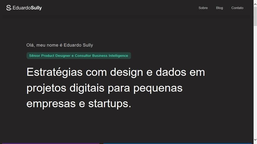 Eduardo Sully - UX Designer