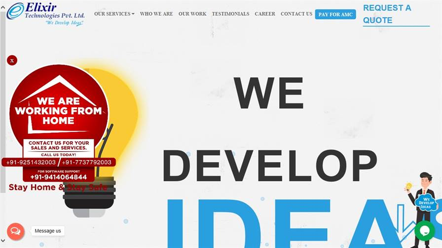 Elixir Technologies Pvt. Ltd.- Web Design & Development Company, SEO Digital Marketing Agency Udaipur