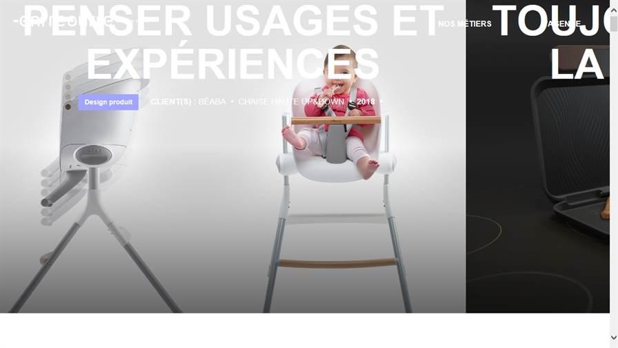 Agence de design Entreautre - Design produit - Design Thinking - UX/UI
