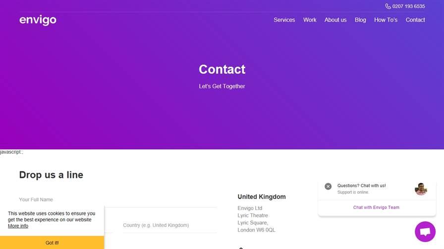 Envigo Ltd - Digital Marketing Agency in UK