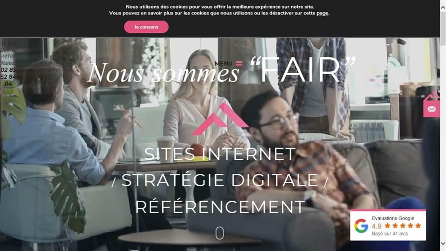 Agence Web Nantes : Fair