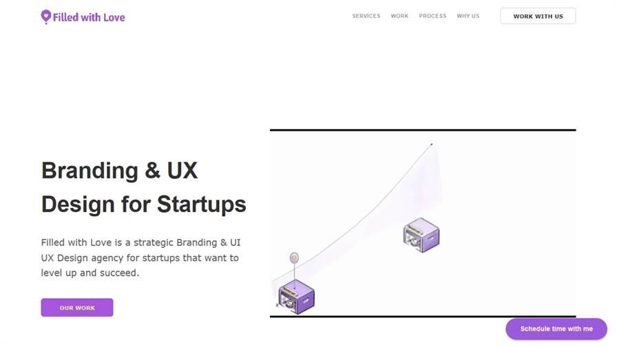 Filled with Love - Branding & UX Design for Startups