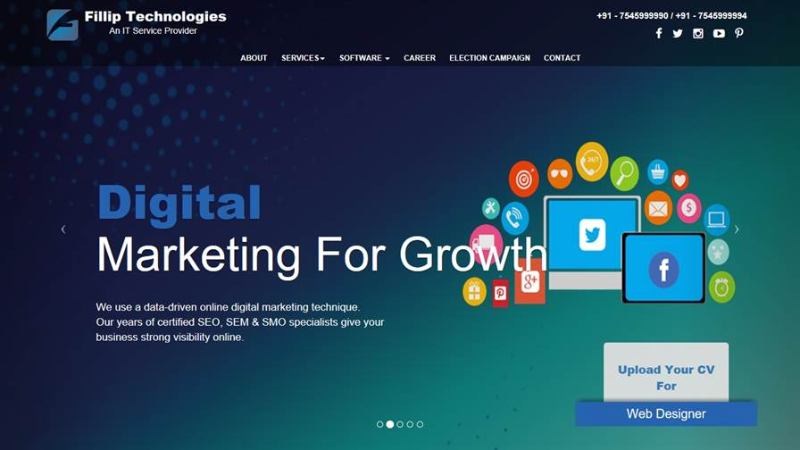 Fillip Technologies : A Website Designing Company in India