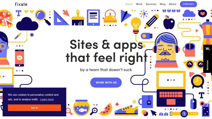 Fixate Web & UX Design