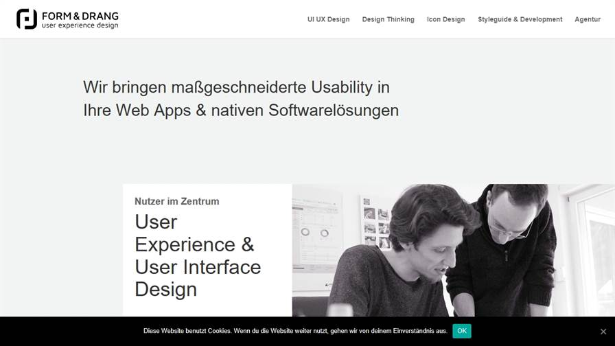 FORM & DRANG GmbH | user experience design