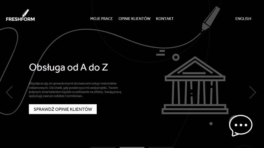 Projekty UX/UI « Freshform