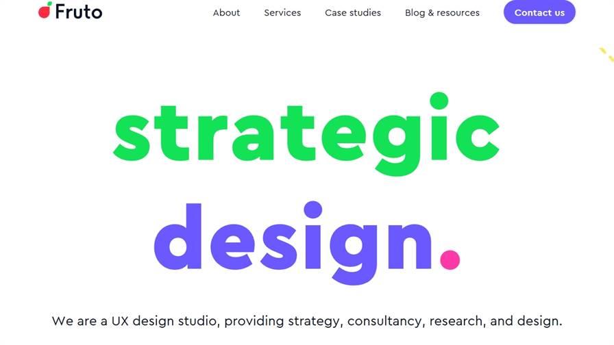 Fruto - UX Design studio