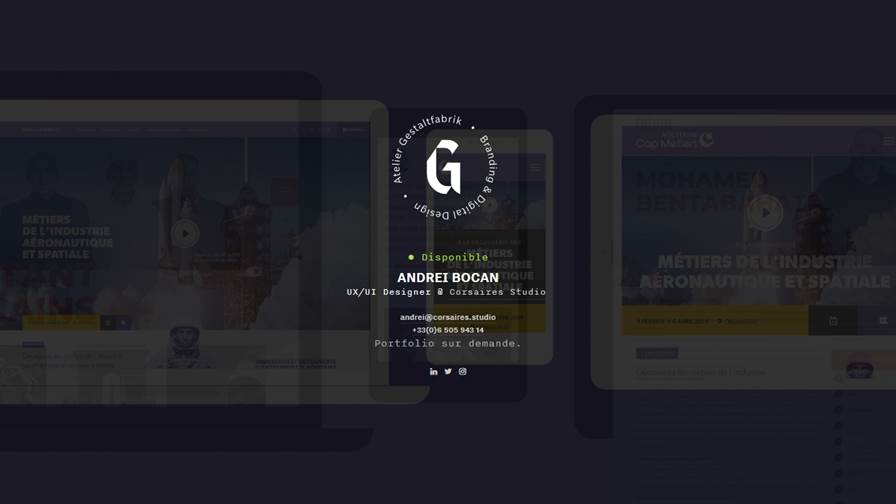Gestaltfabrik - Studio indépendant spécialisé dans la création de marques et de produits digitaux