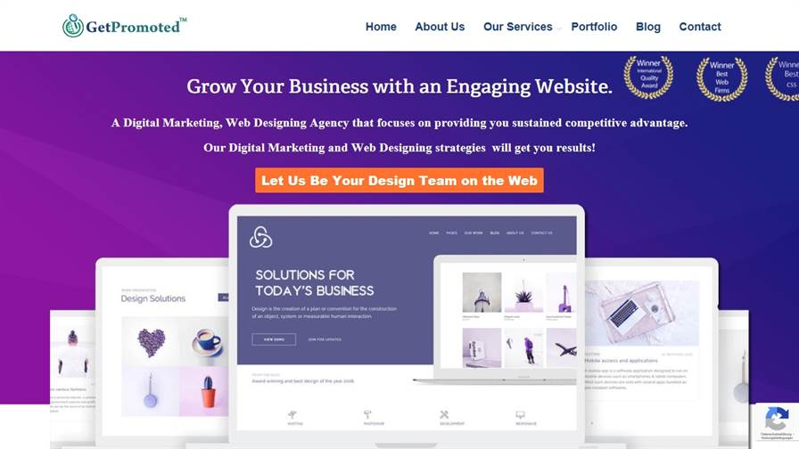 GetPromoted Website Designing Company in Gurgaon, Web Design Gurgaon