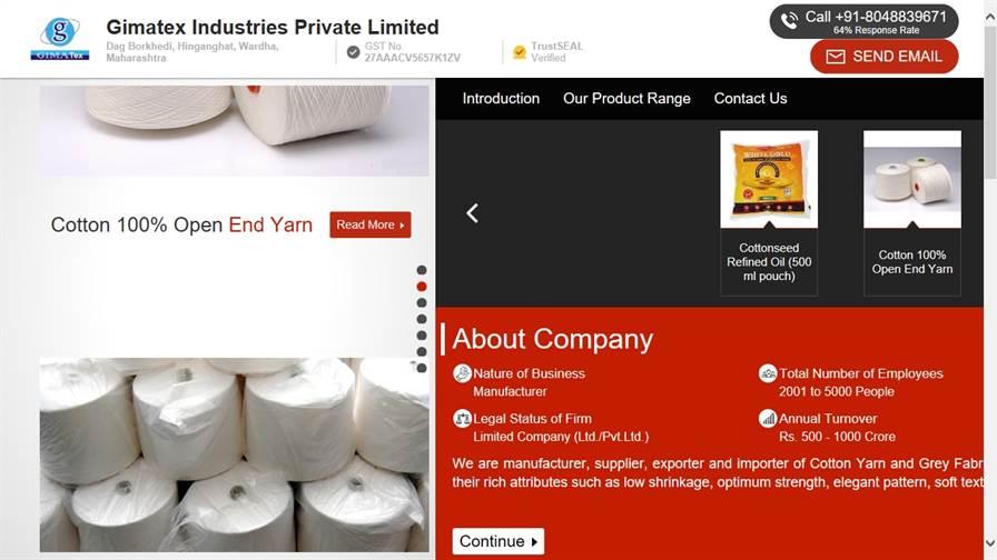 Gimatex Industries Pvt. Ltd.