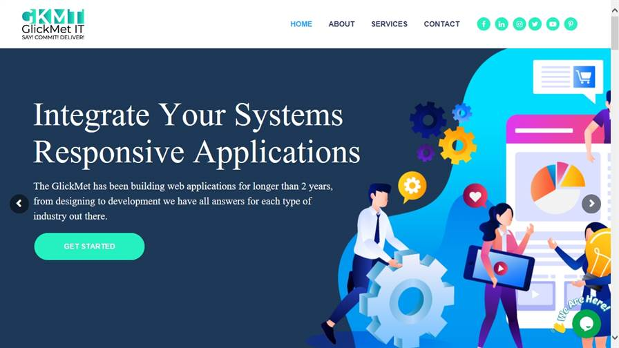 GKMT IT - Web Design & Development , Mobile App Development, Graphic Design and Digital Marketing company in India