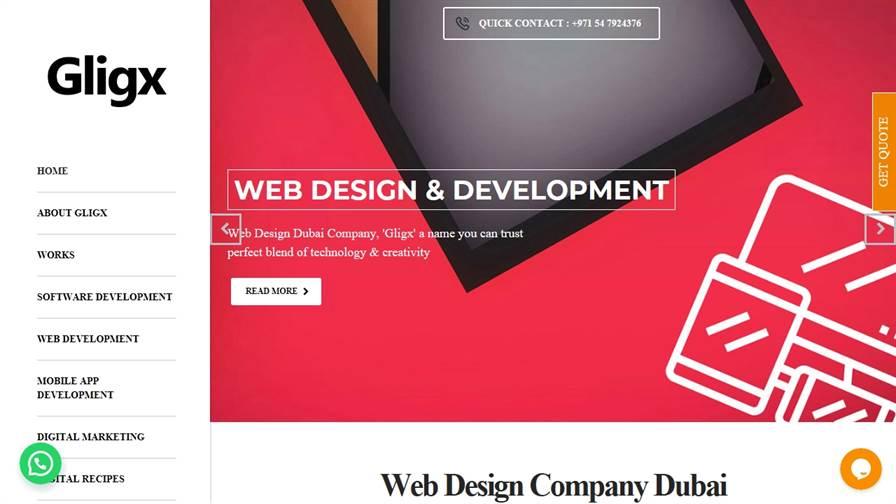 Gligx Web Design and Software Development Company