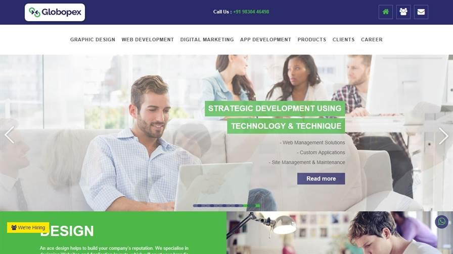 Globopex - ROI Focused Digital Marketing Agency - Branding, Creative & Web Designing in Kolkata