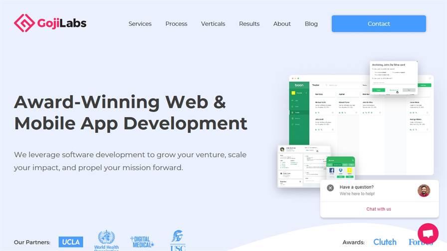Goji Labs - Los Angeles App Development