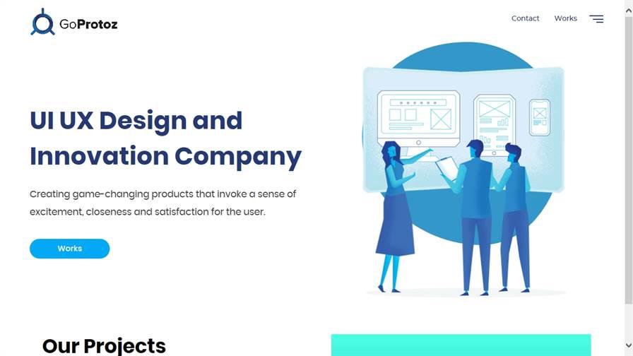 GoProtoz – Best UI UX Design Studio & Design Agency