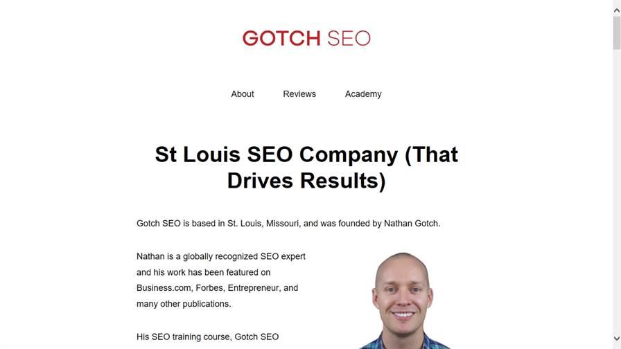 Gotch SEO St Louis