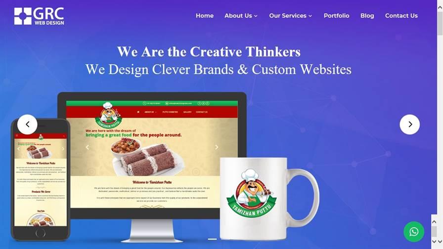 GRC Web Design Vellore