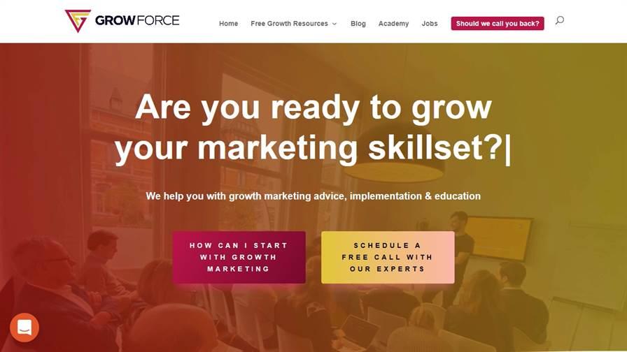 GrowForce - Growth Marketing Agency