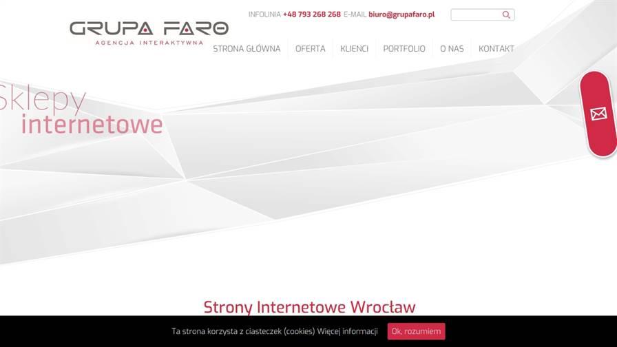 Grupa Faro - Strony internetowe Wrocław