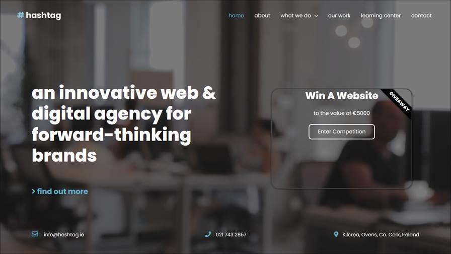 Hashtag Web & Digital Agency   Web Design Cork