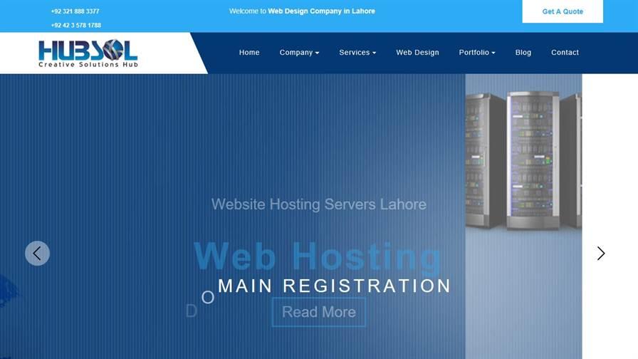 Hub Sol | Web Design & Development Lahore, Pakistan