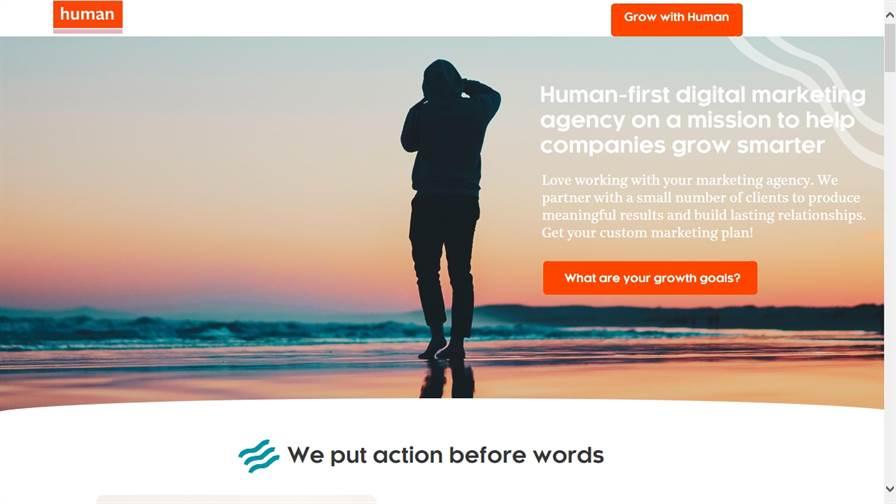 Human   Digital Marketing Agency Orange County, CA