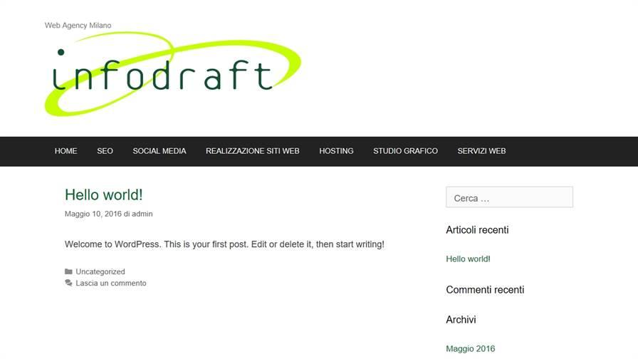 Info Draft Web Agency Milano