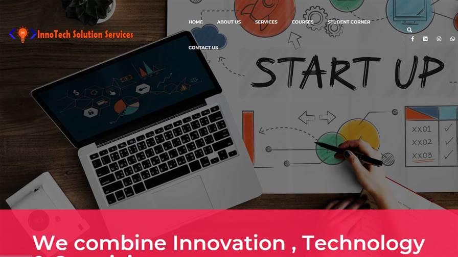 InnoTech Solution Services-Website Design and Development, Digital Marketing, Mtech Btech Project training Company in Chhattisgarh
