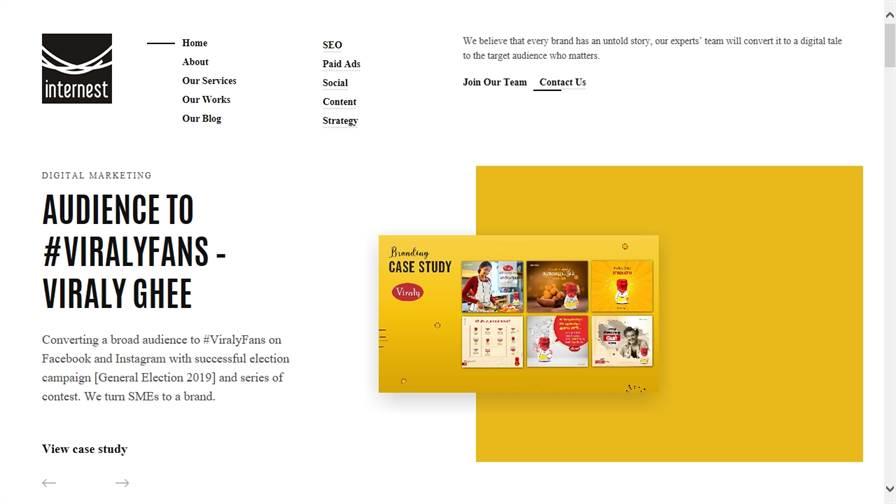 Internest Agency - digital marketing company in Trichy