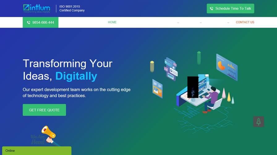 Intlum Technology - Website Design Company & Web Development Company in Kolkata