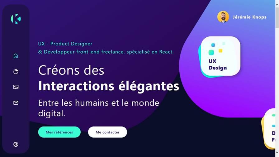 Jérémie Knops - UX • Product Designer
