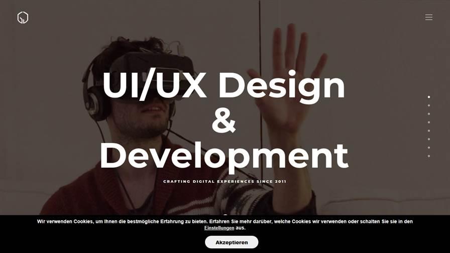 UI/UX Design & Development - Johannes Goss