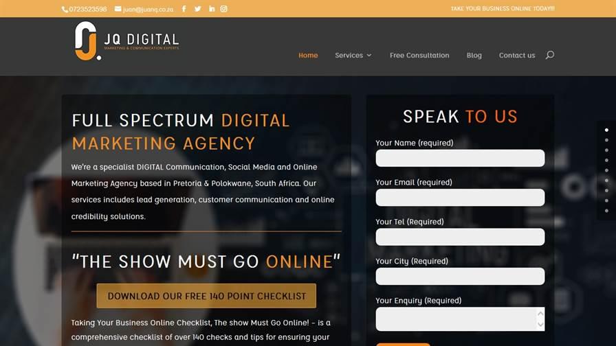 JQ Digital Marketing and Communication