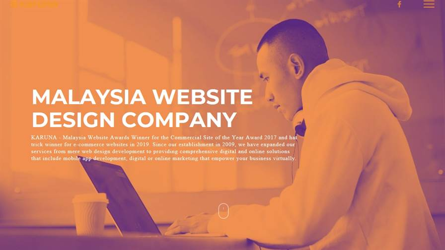 KARUNA Website Design Kuching   Malaysia Website Awards Winner 2017 & 2019