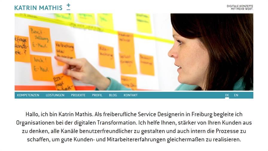 Katrin Mathis. Digitale Konzepte mit mehr Wert.
