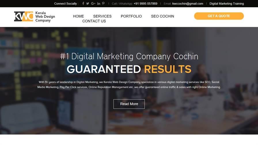 Kerala Web Design Company