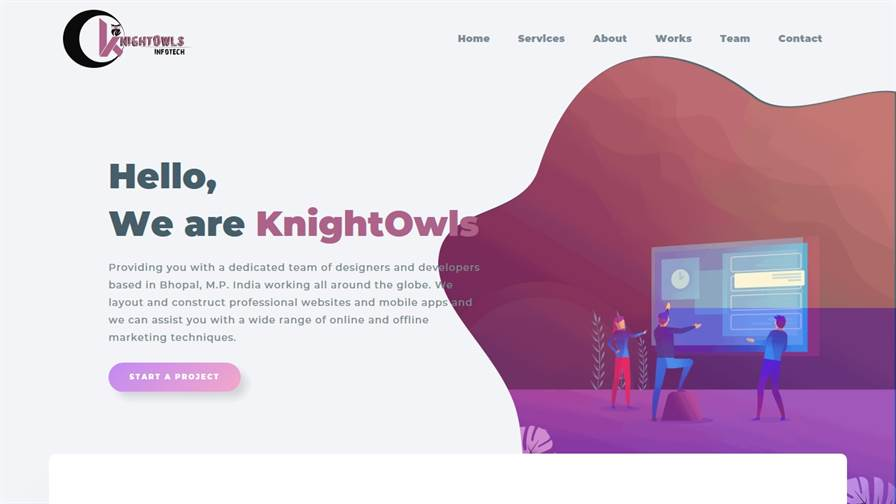 knightowls Infotech - Website Designing | E Commerce Website Designing | Android App