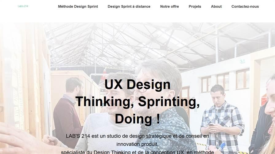 LAB'S 214 - Design Sprint - Design Thinking - UX UI Design