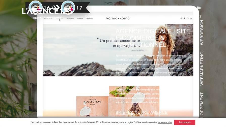 l'AGENCE123 | Agence digitale Bordeaux • E-commerce • SEO & SEA