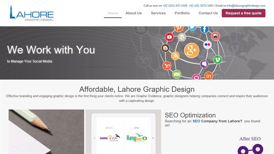Lahore Graphic Design