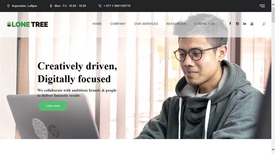 Lone Tree Marketing - Digital Marketing Agency in Nepal
